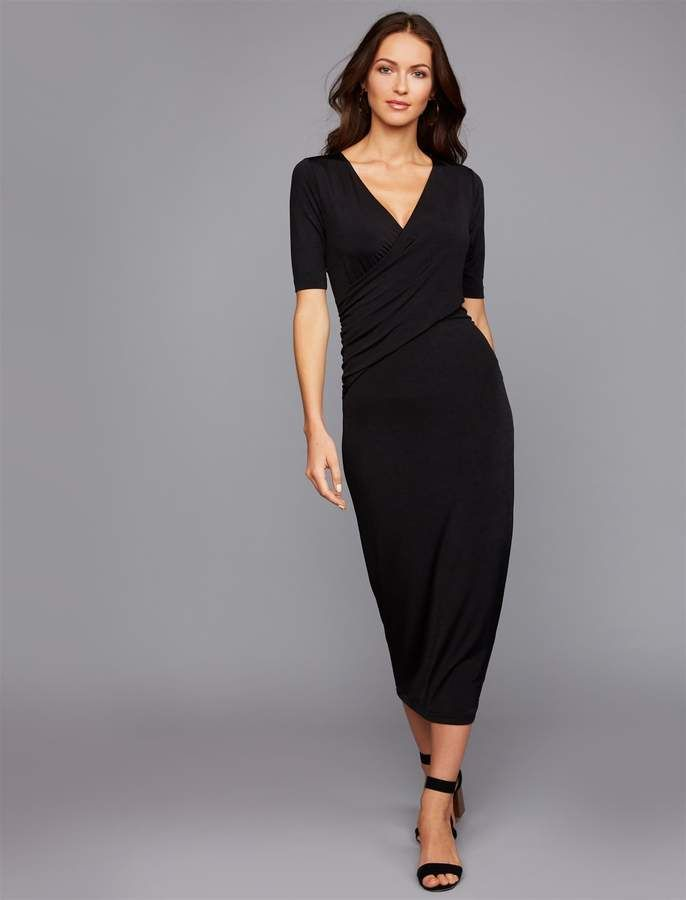 9f0199a489835 A Pea in the Pod Pull Over Bias Cut Nursing Dress Pull Over Bias Cut Nursing