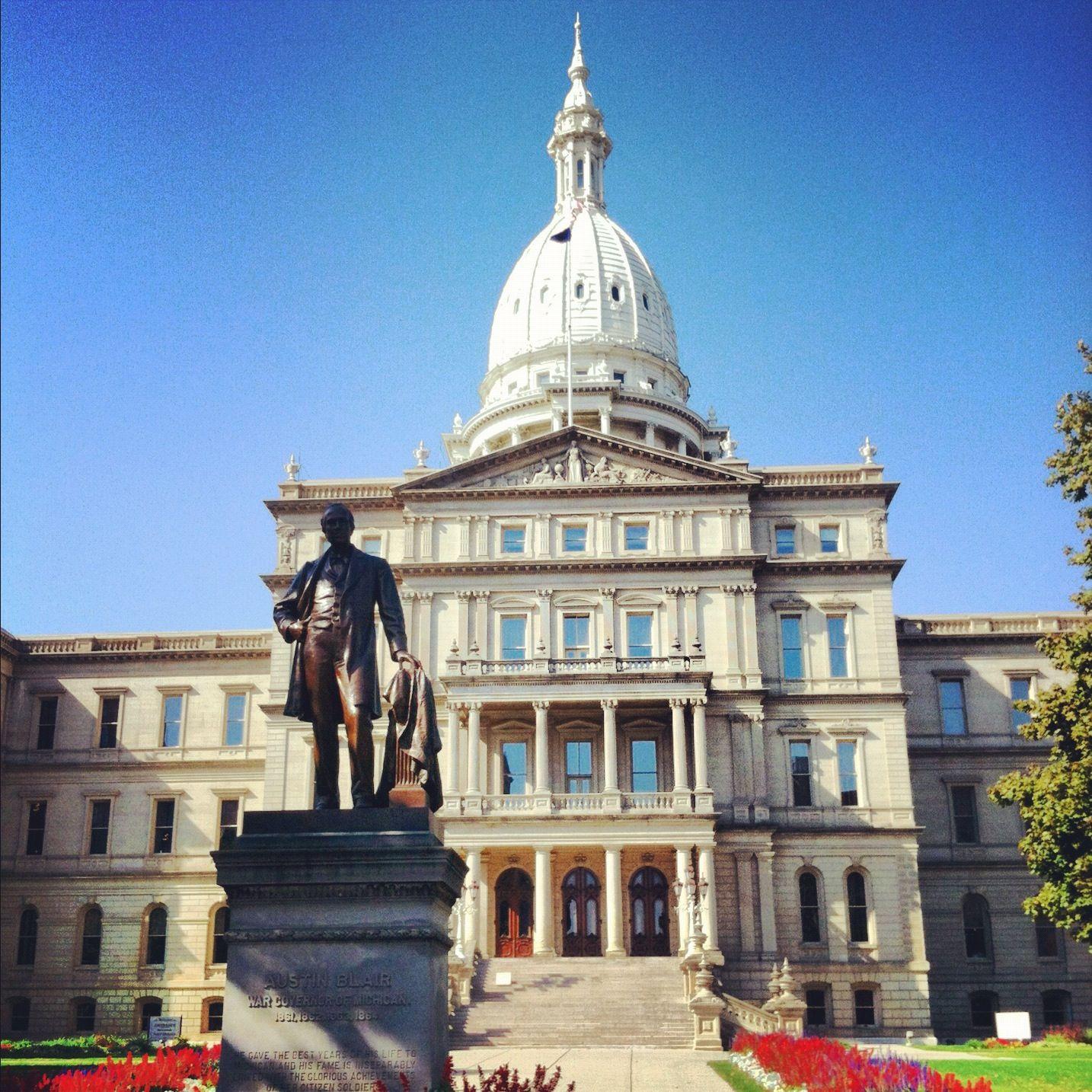 Michigan State Capital Lansing Michigan Michigan State