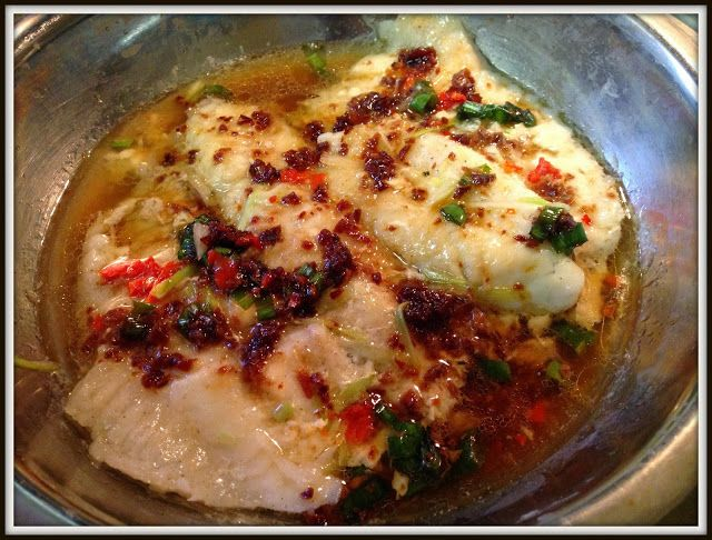 """""""紫""""的日记 The Diaries: 辣酱蒸鱼 Chili Soy Sauce Steam Fish Fillets"""