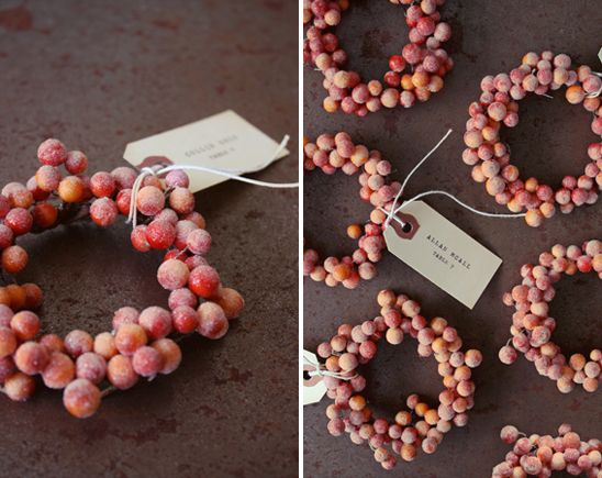 Winter Wedding Details With Charm