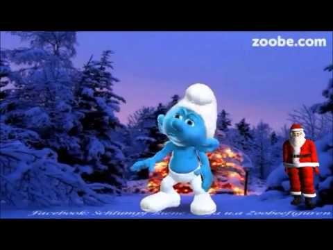 Nikolaus will was in die schuhe schieben advent weihnachten lustiger schlumpf zoobe - Schlumpf weihnachten ...