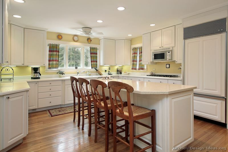 White Kitchen Yellow Cabinets 100+ ideas yellow kitchen with white cabinets on www.weboolu