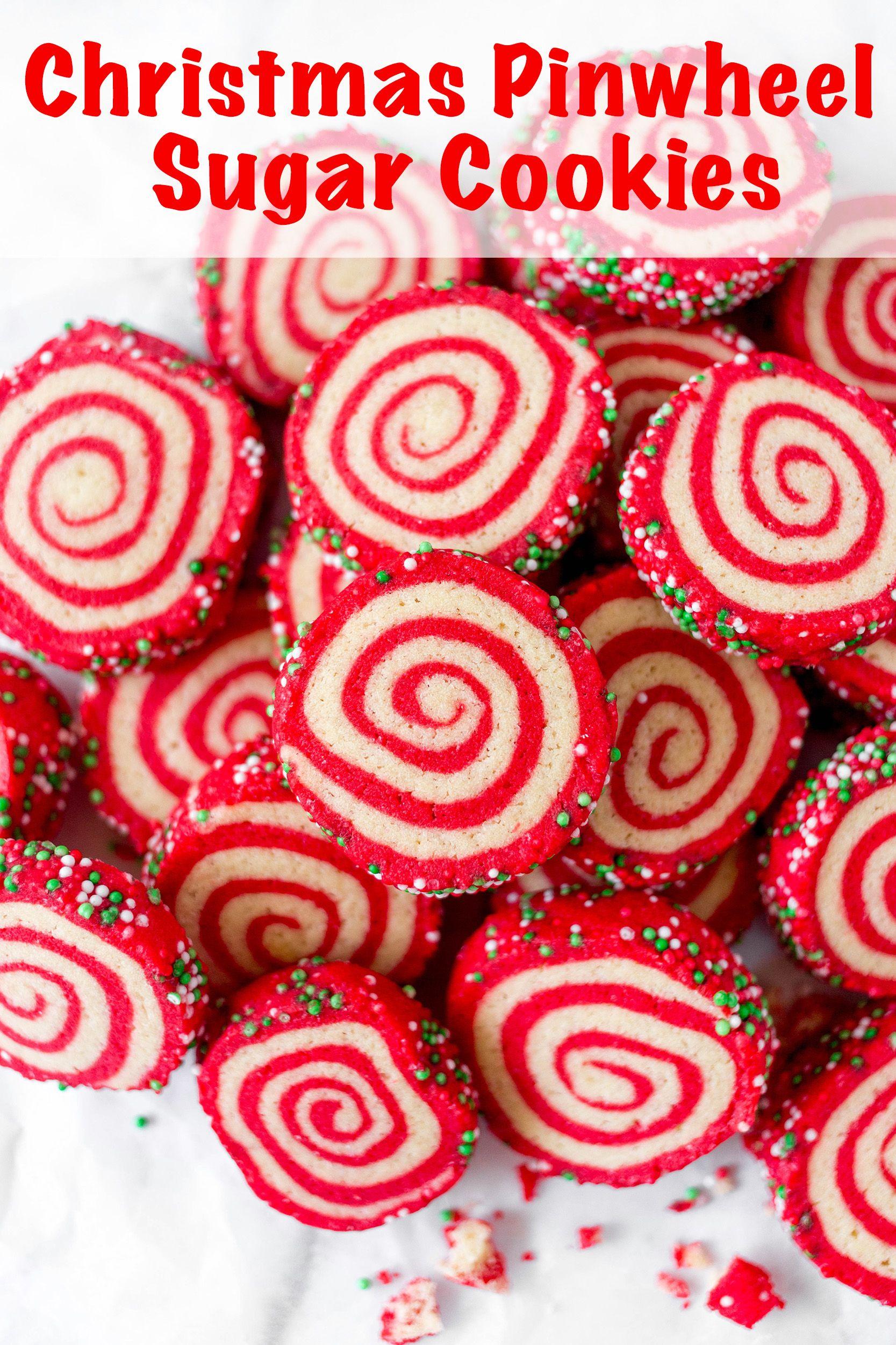 Dec 20 Christmas Pinwheel Sugar Cookies Lip Smacking Food From