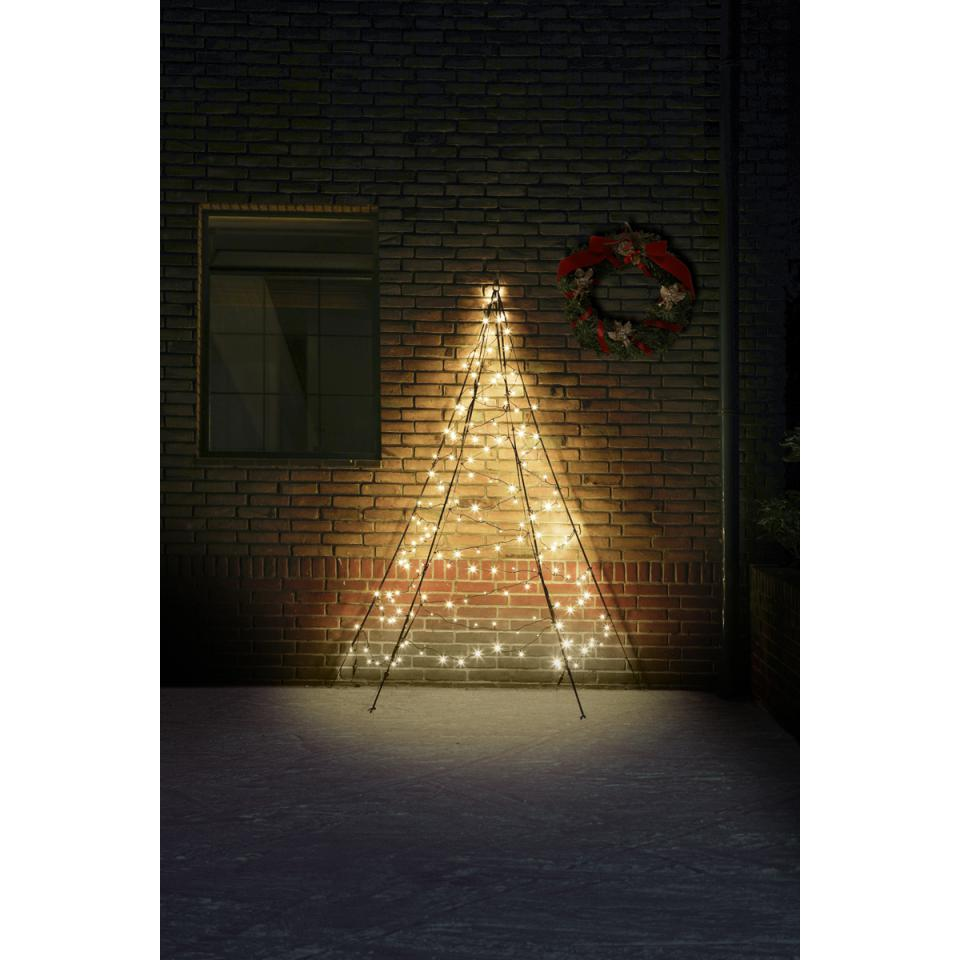 Fairybell Muurboom 180 Lampjes Warmwit 200 Cm Blokker Kerstverlichting Muur Schutting