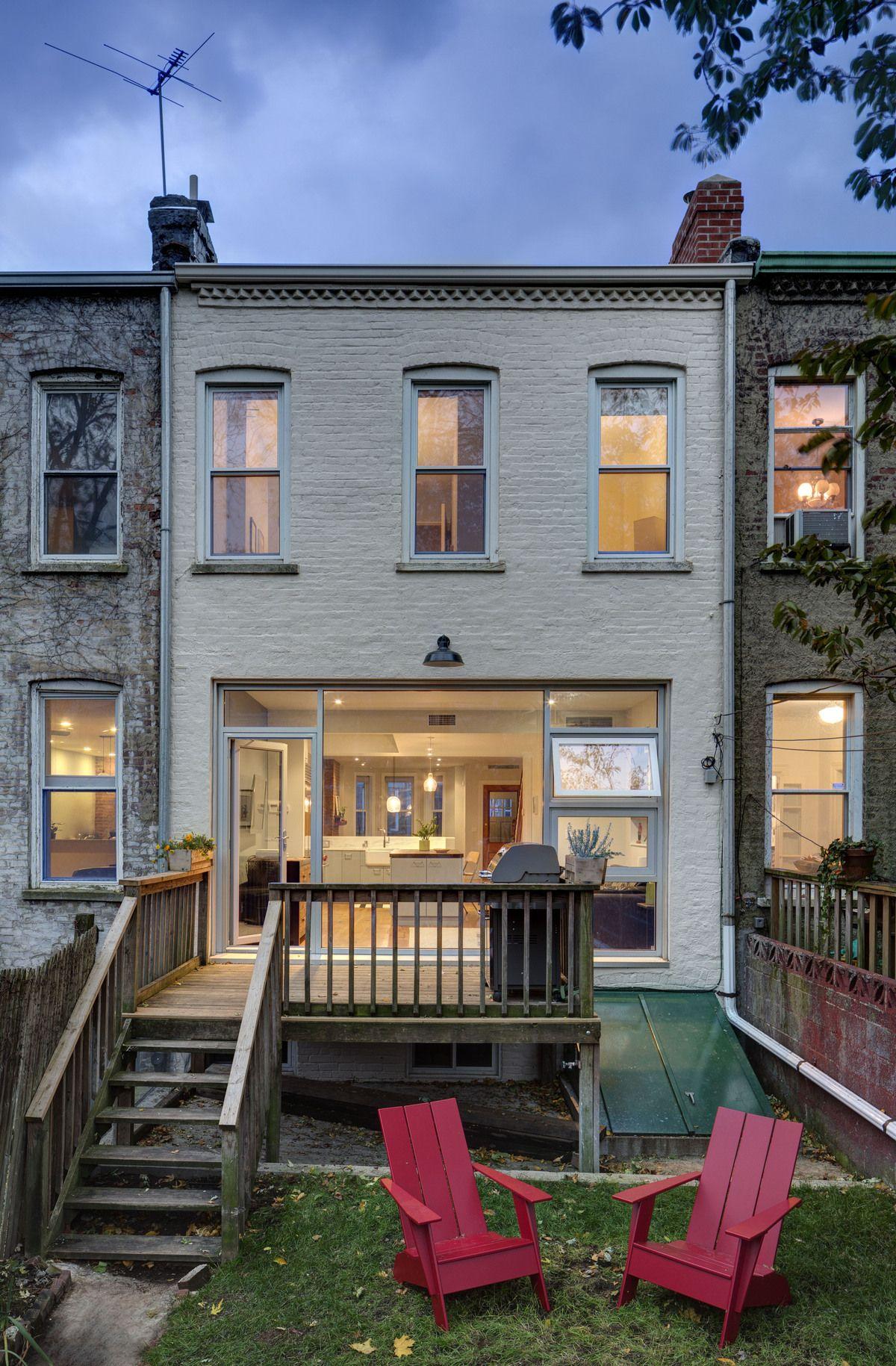 Park Sl*P* Rowhouse Renovation Barker Freeman Design 640 x 480