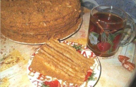 Honigpudding sanft richtig Honigkuchen mit Vanillesoße