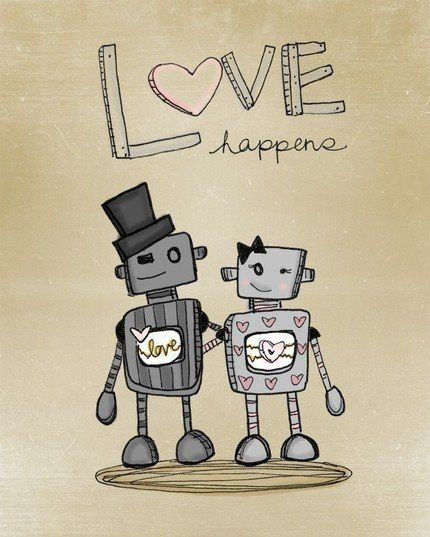 I plan on getting a robot couple tattoo