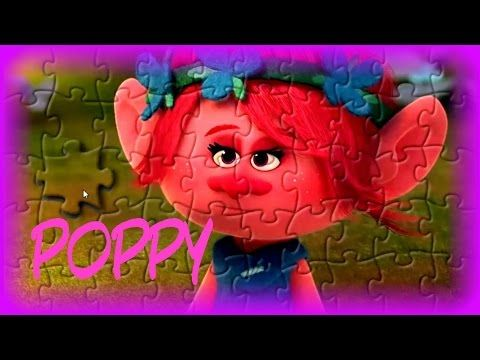 Trolls The Movie Poppy Puzzle Game - Kids Learn & Play Toy Puzzle Games - YouTube