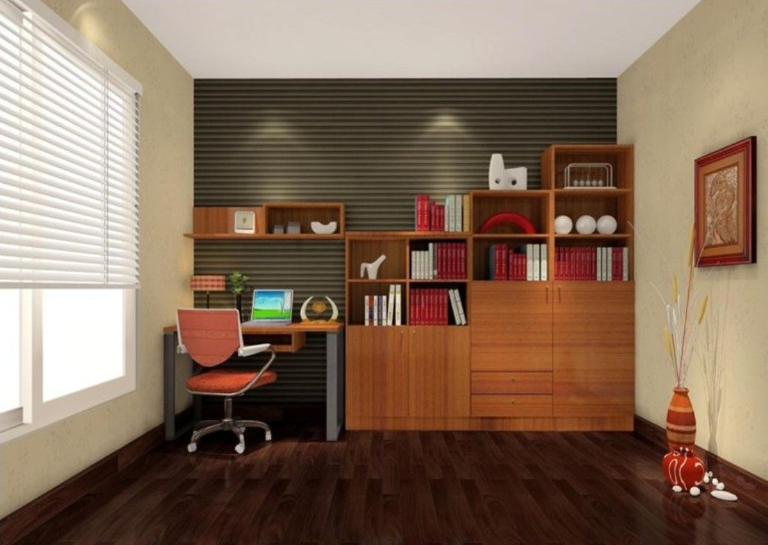 Danish modern study room interior design kbhomes denver Study room ideas