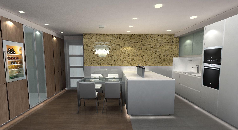 Dise O Cocina Santos Muebles En Blanco Unos Y Otros Madera  # Muebles Riego De La Vega