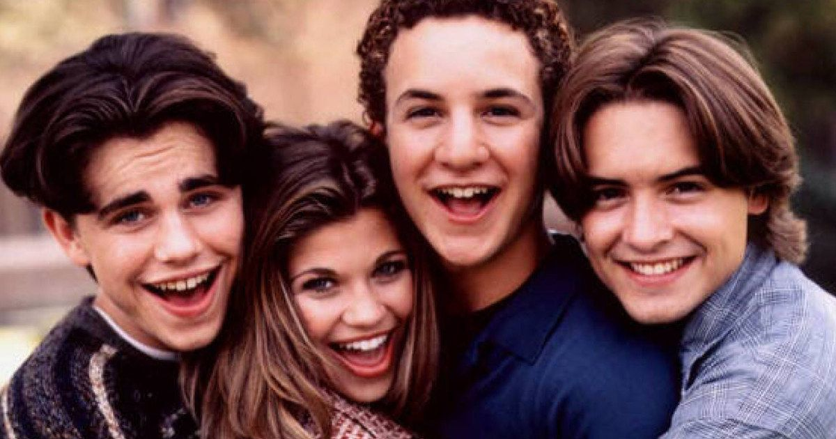 Boy Meets World Cast Recreates Famous Photo From 25 Years Ago Cool