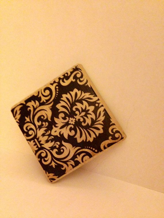 Set of 4 Ceramic Coasters by MaeLynnBoutique on Etsy