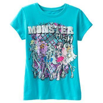 Monster High Tee - Girls 7-16