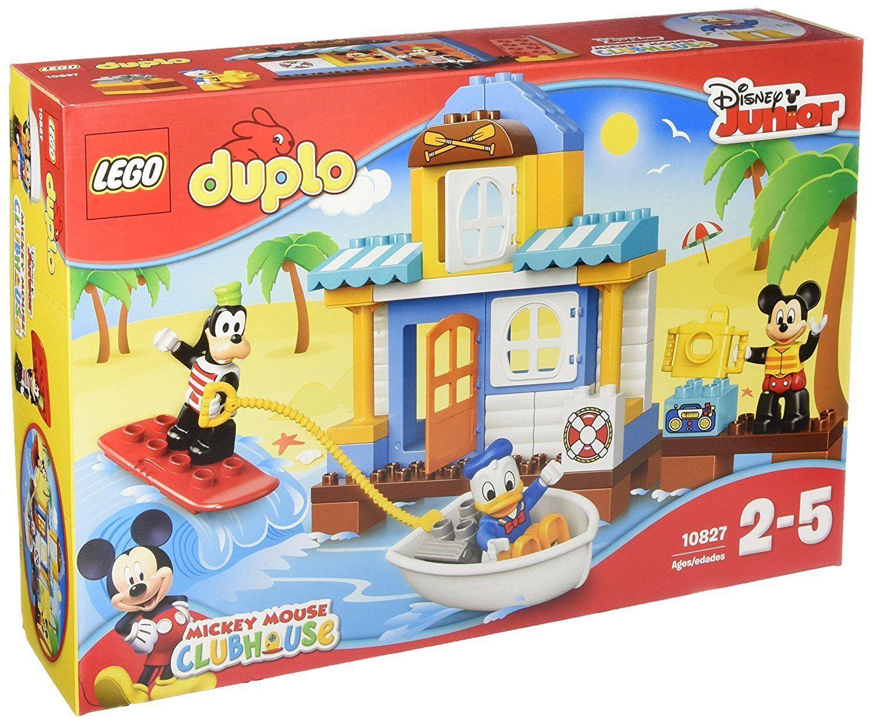 01317 Lego Duplo Mickey Friends Beach House 10827 Lego Duplo Disney Junior Toddler Toys