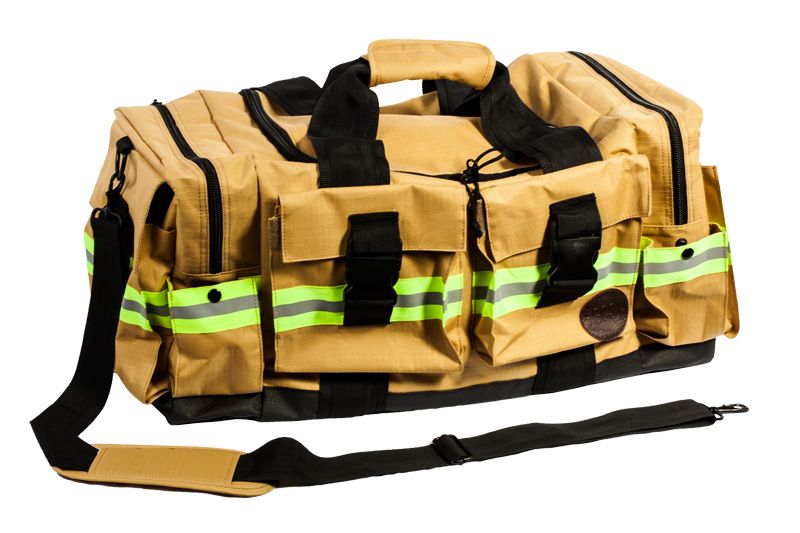 GCS Firefighters Merchandise offers bags and accessories made from authentic firefighter material for durable, firefighter style.