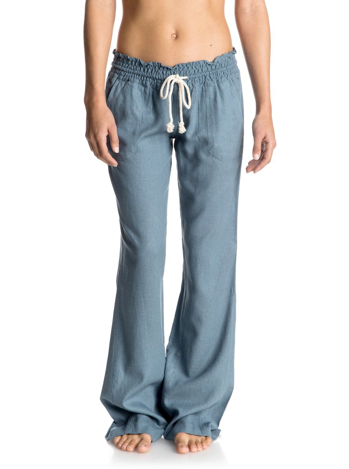 747da34ad1f Oceanside Flared Linen Pants in 2019
