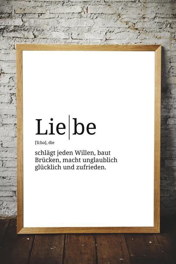 Gallery Definition Liebe   Format wählbar   Premium Spruch Poster für Küche Wohnzimmer oder WG   Kunstdruck für den Bilderrahmen is free HD wallpaper.