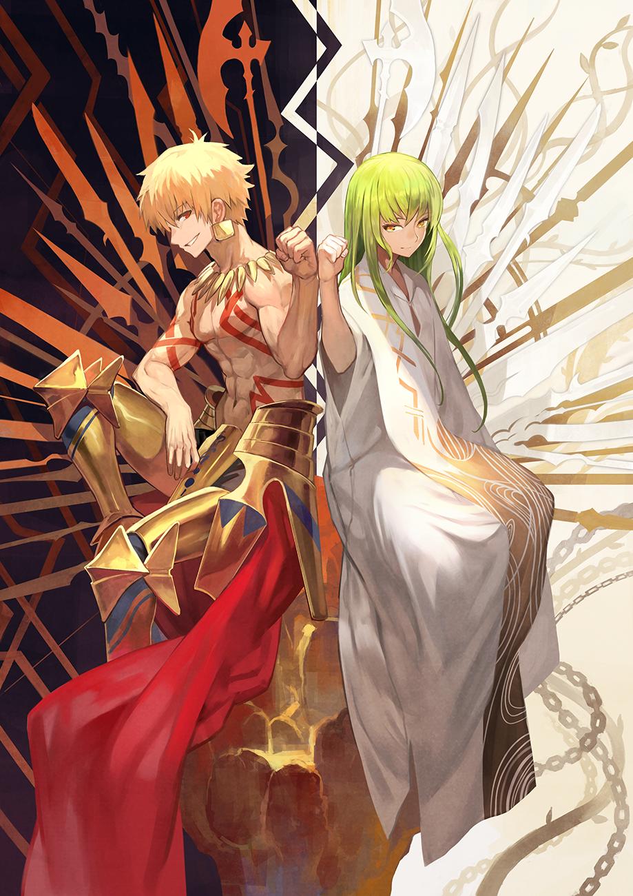 Fgo Gilgamesh And Enkidu Fate Anime Series Gilgamesh And Enkidu