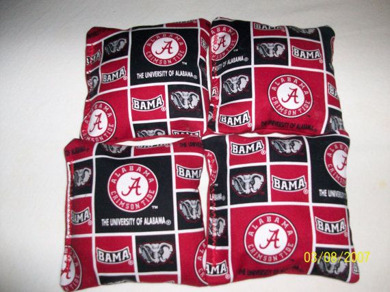Hey, I found this really awesome Etsy listing at http://www.etsy.com/listing/151957781/cornhole-bags-alabama-crimson-tide-bama