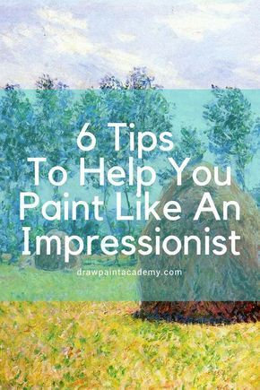 6 Tips To Help You Paint Like An Impressionist is part of Impressionist paintings acrylic, Watercolor paintings, Impressionist paintings landscape, Art inspiration drawing, Impressionist art lessons, Acrylic painting tutorials - It is no secret, I love the impressionist movement  But how exactly do you paint in an impressionist style  Many artists seem to use it as an excuse to paint sloppy  But really, impressionism is just a relaxed form of realism in my opinion  Accuracy is still extremely important in impressionism  In this post, we will run through some tips to help you paint like an impressionist  Characteristics of impressionism Before I get into the tips, here are some of the characteristics of impressionism Broken color; Loose and fluent brushwork; Relaxed and sometimes inaccurate drawing; A focus on capturing the