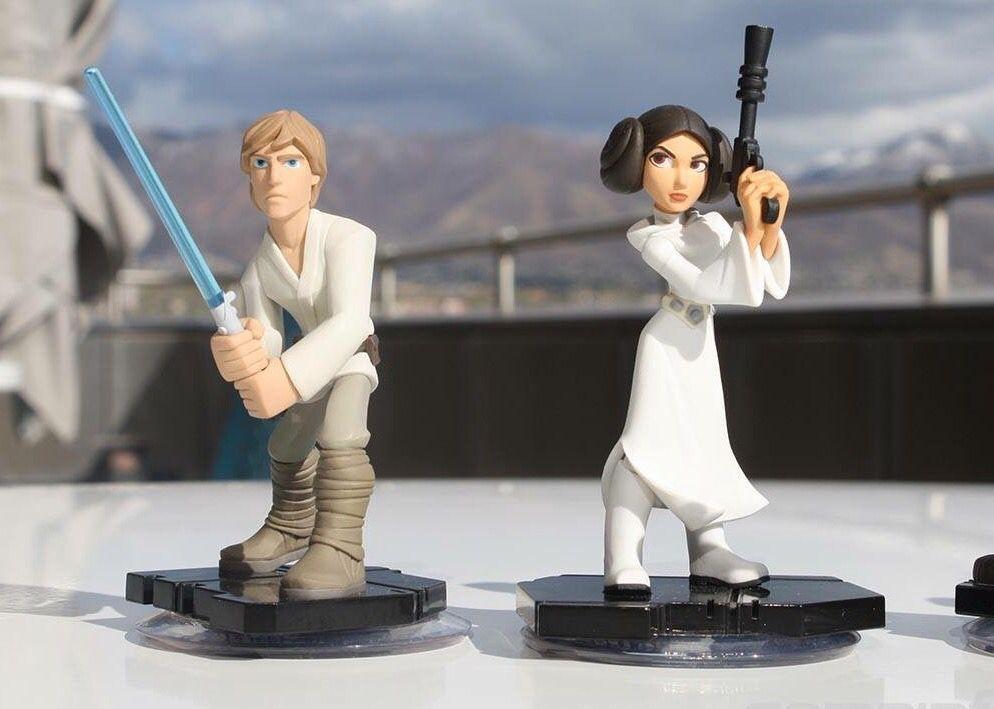 Disney Infinity 3.0 Star Wars figures Luke Skywalker and ...