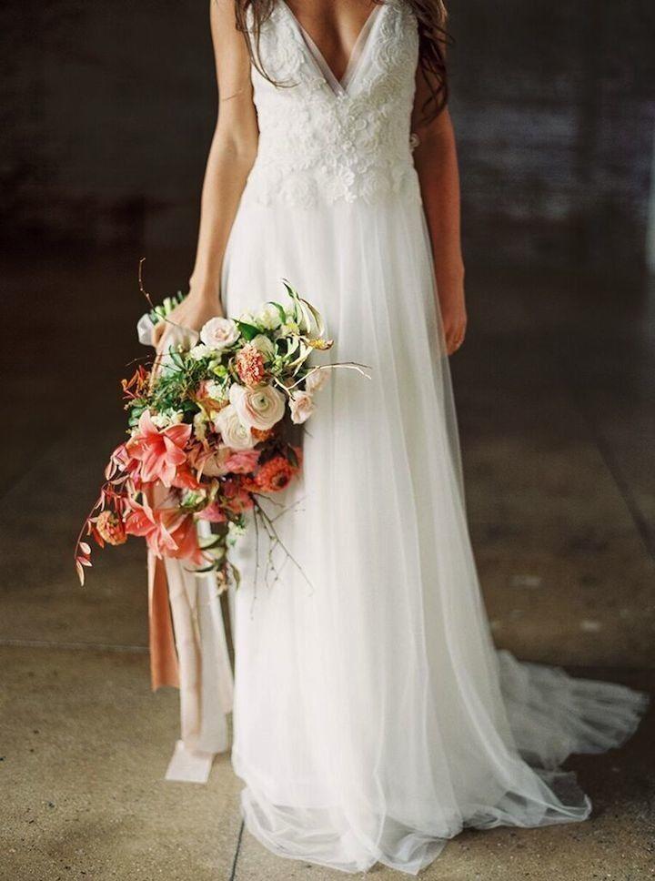 california wedding inspiration with a modern flair   california