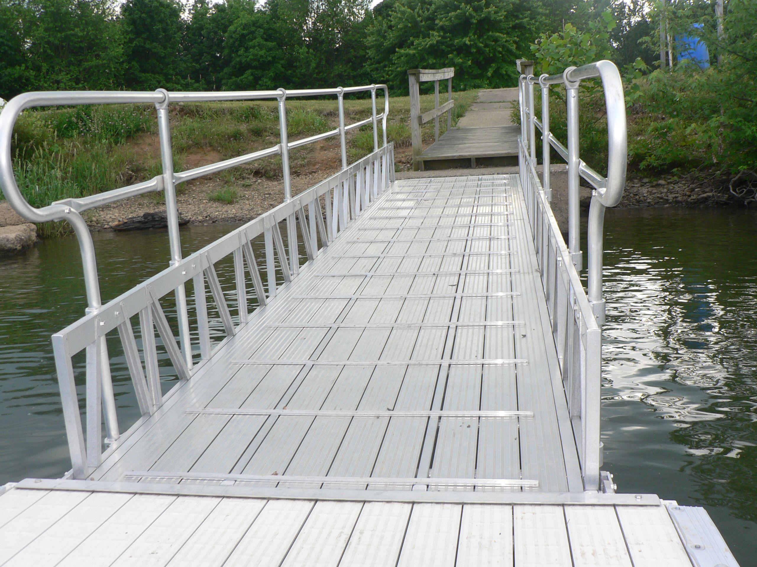Aluminum Gangway With Anti Skid Decking Lakelife Boating