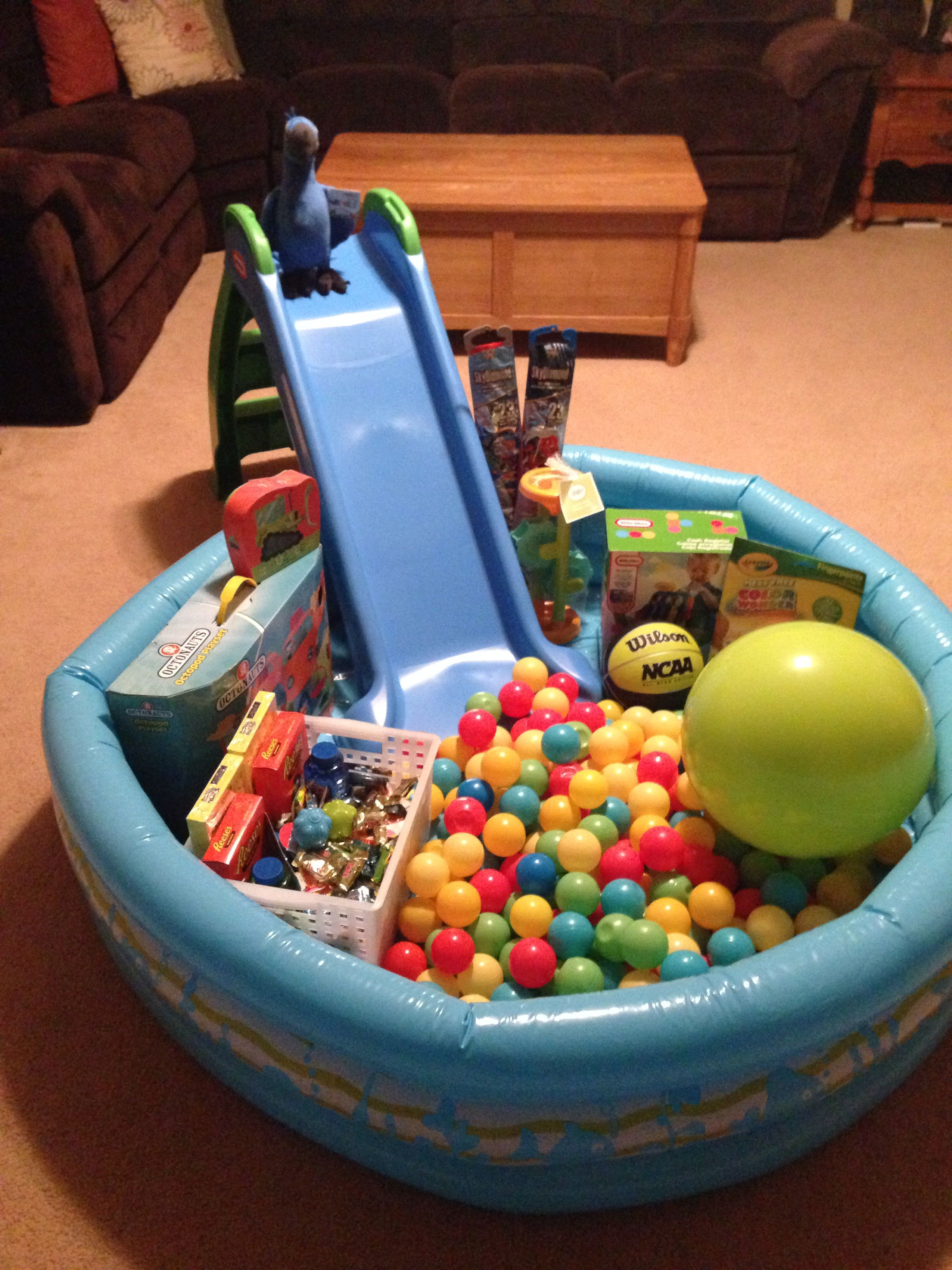 Easter basket pool with slide easter pinterest easter baskets easter basket pool with slide negle Image collections