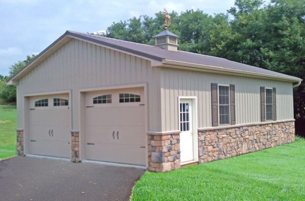 Pole Building Garages | Garage