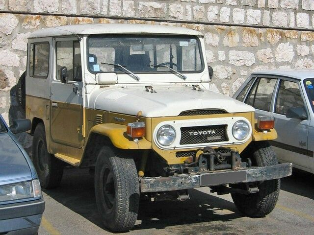 The Toyota J40 is the model designation for a Toyota Land Cruiser 40 series made from 1960 until 1984 (in Brazil, where it was known as the Toyota Bandeirante, it was made from 1968 until 2001). Most 40 series Land Cruisers were built as 2-door SUVs with slightly larger dimensions than a Jeep CJ.