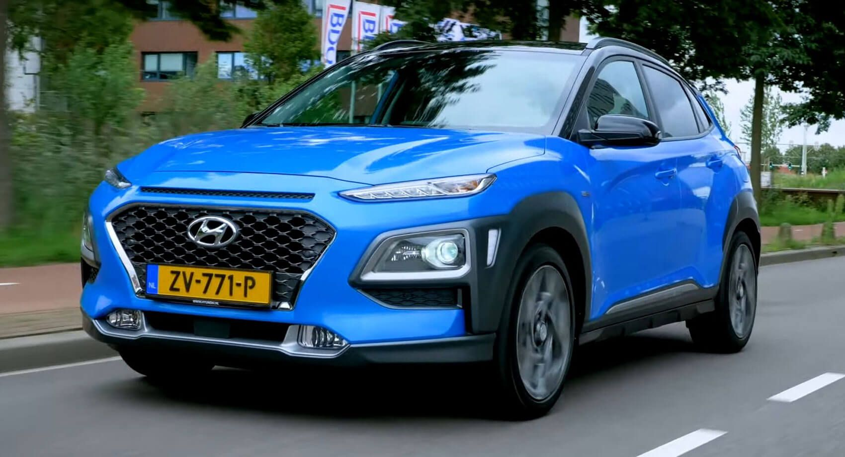 Hyundai Kona Hybrid Is A Funky Looking Small Suv With An Electric Touch