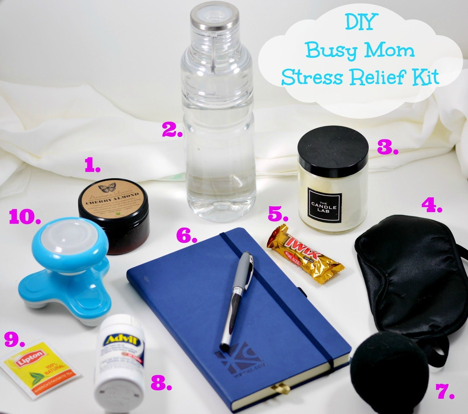 Life With 4 Boys Diy Busy Mom Stress Relief Kit