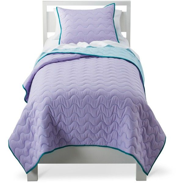 Circo Quilt Set - Purple ($27) ❤ liked on Polyvore featuring home ... : circo quilt - Adamdwight.com