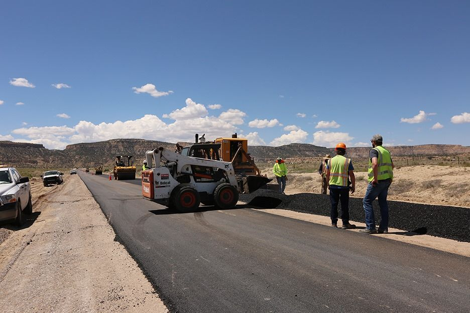 May 23, 2019 PAVING OF ROUTE N481 NEAR COMPLETION