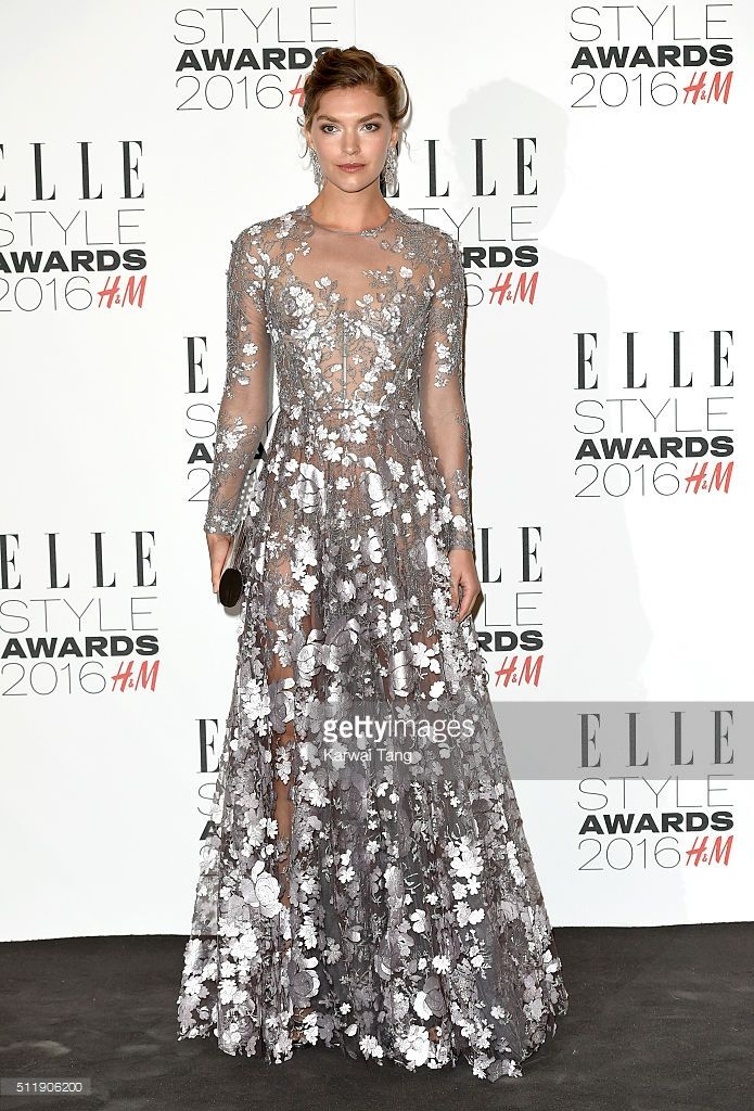 Arizona Muse attends The Elle Style Awards 2016 on February 23, 2016 in London, England.