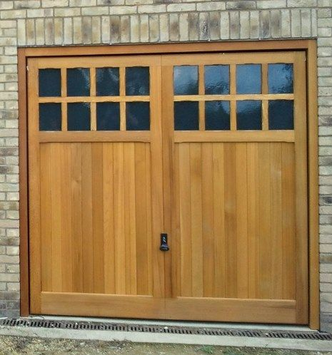 19 Awesome Wood Look Garage Doors Images