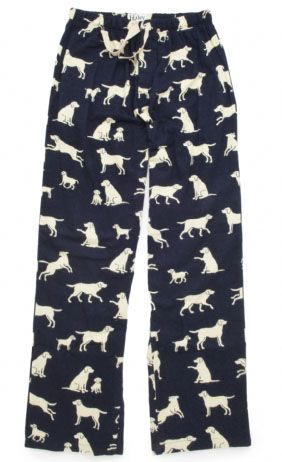 hatley nature blue labs mens flannel pajama pant