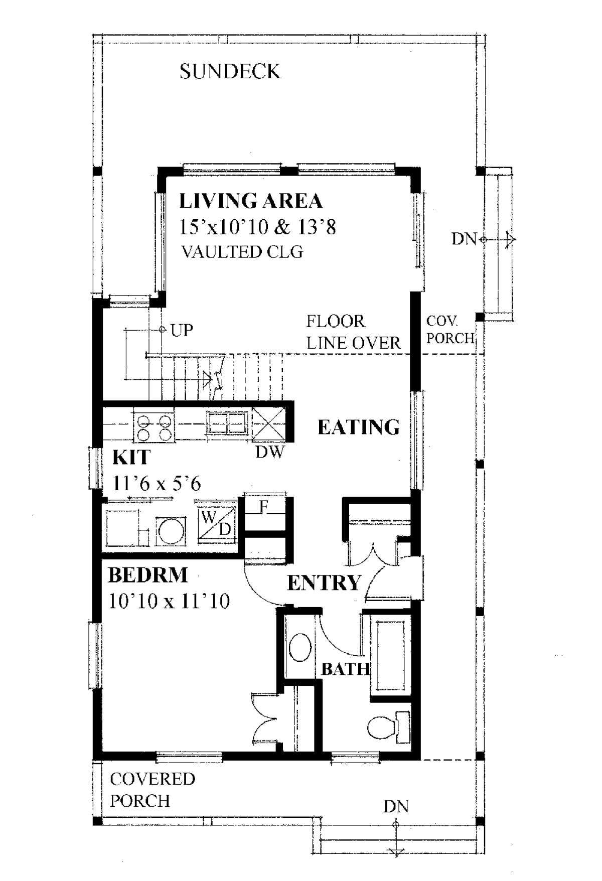 House Plan 4177 00004 A Frame Plan 1 062 Square Feet 1 Bedroom 1 Bathroom A Frame Floor Plans How To Plan House Plans