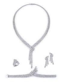 أطقم الماس ناعمة مجوهرات الماس ٢٠١٦ ٢٠١٧ Precious Stones Pendant Pendant Necklace