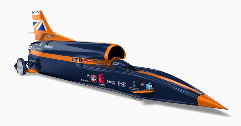 Bloodhound Ssc Is A 135 000 Horsepower Supersonic Rocket Car Fast Cars Car Vintage Race Car