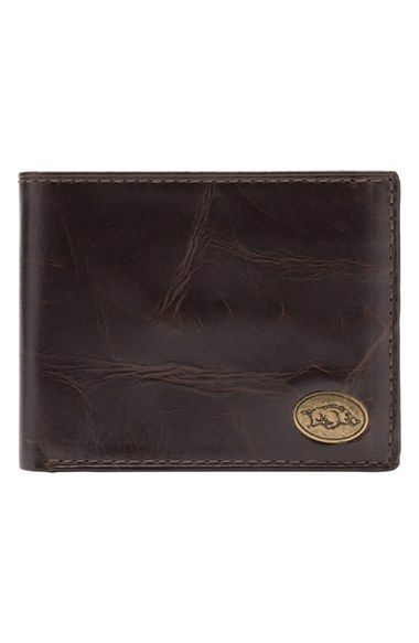 Jack Mason Brand 'Legacy - Arkansas Razorbacks' Traveler Wallet