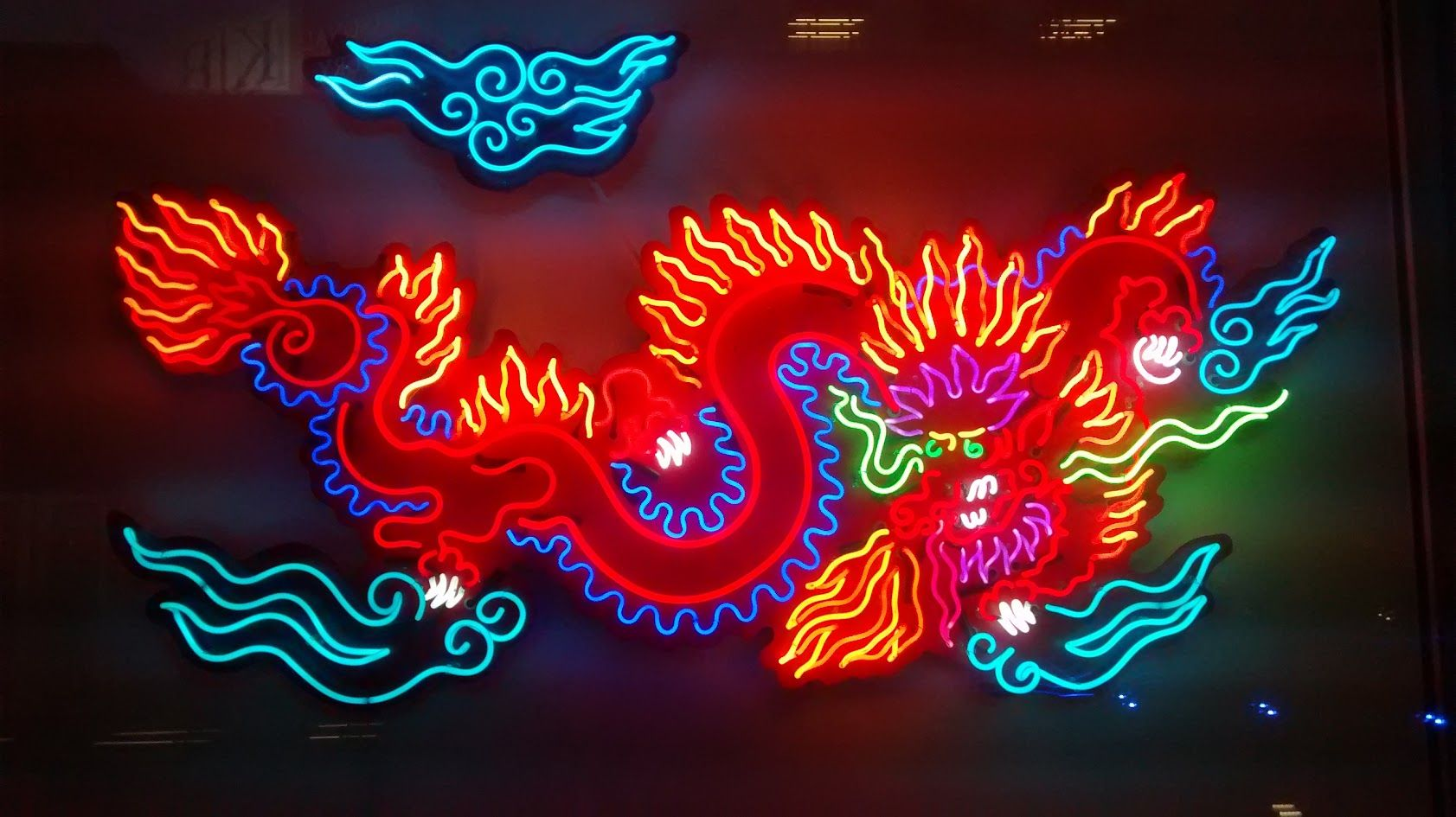 neon museum dragon light signs lights sign artist painting glow chinese word colors game letter aesthetic arte japanese bright ネオン