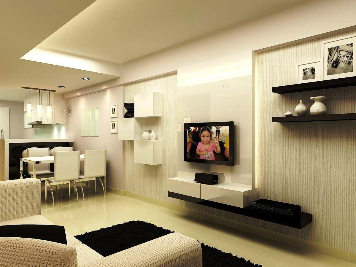Mini Living Room Design Minimalist Ruang Keluarga Minimalis