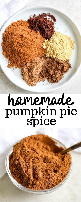 Homemade Pumpkin Pie Spice Recipe Pumpkin pie spice
