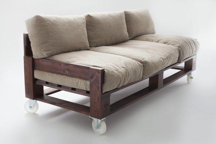 Ein Palettensofa Selberbauen So Leicht Geht Es Mobel Aus Paletten Sofa Aus Palletten Europaletten Sofa
