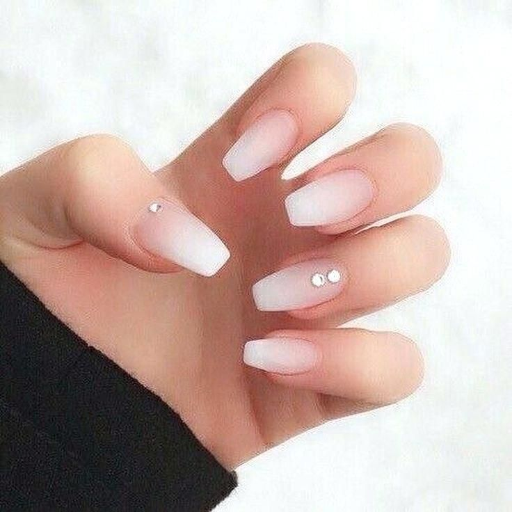 Neutral Acrylic Nails Cute Nail Designs Simple Beige By For Tip Beauty Nails Design Stylish Nails Designs Trendy Nail Art Designs