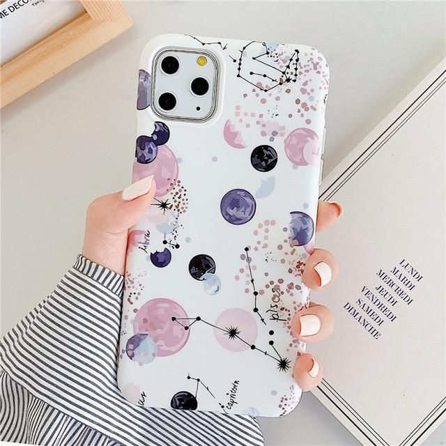 Leaf Flowers iPhone Case