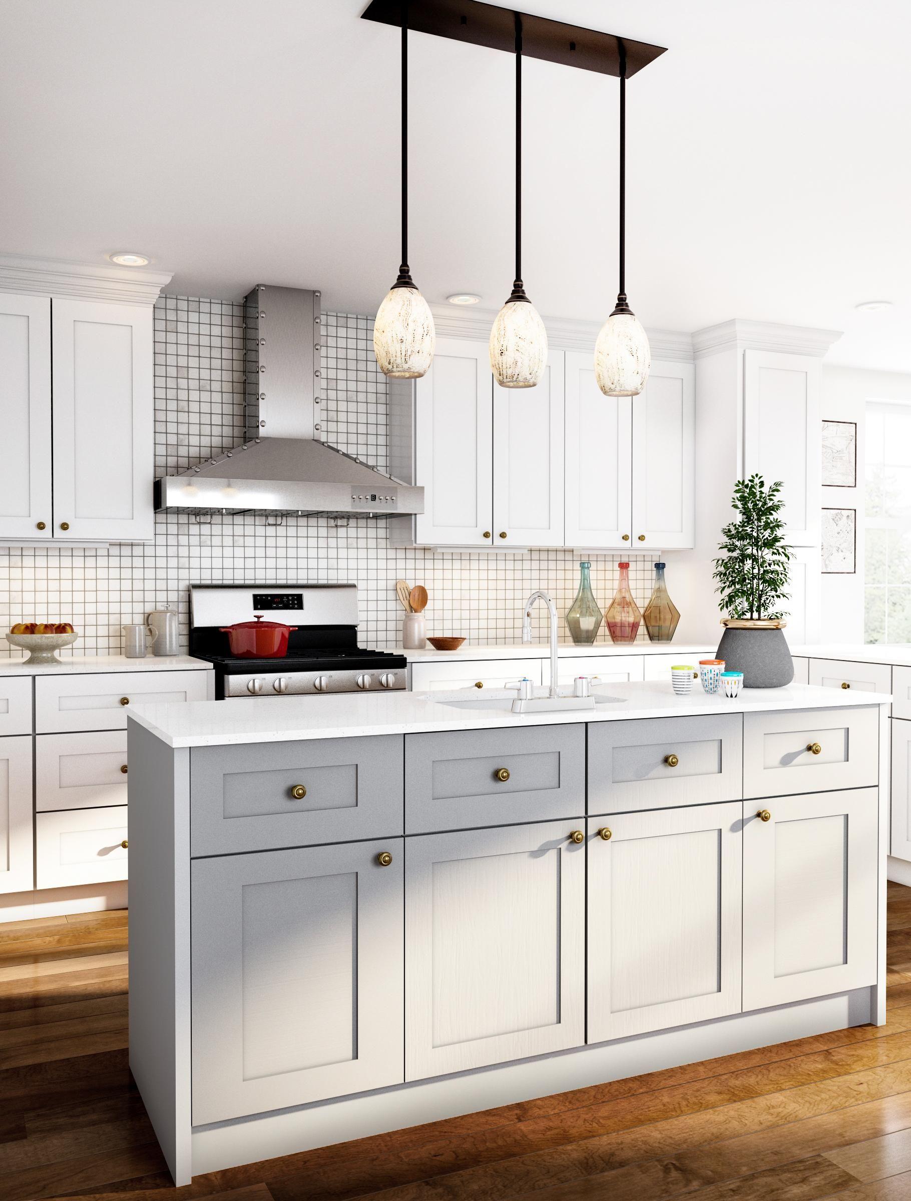 White Kitchen With Rich Floors White Modern Kitchen Kitchen Remodel Kitchen Appliances Design