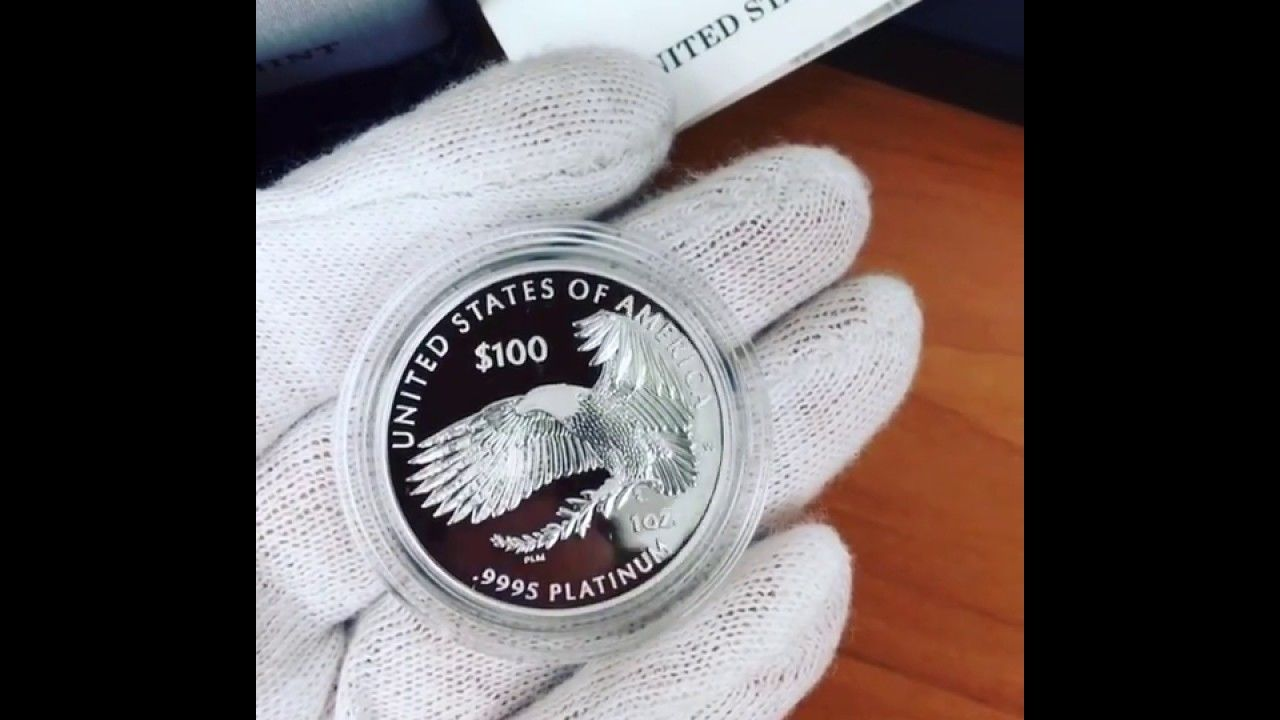 2018 W 1 Oz Proof Platinum American Eagle Coin Eagle Coin Platinum Coins