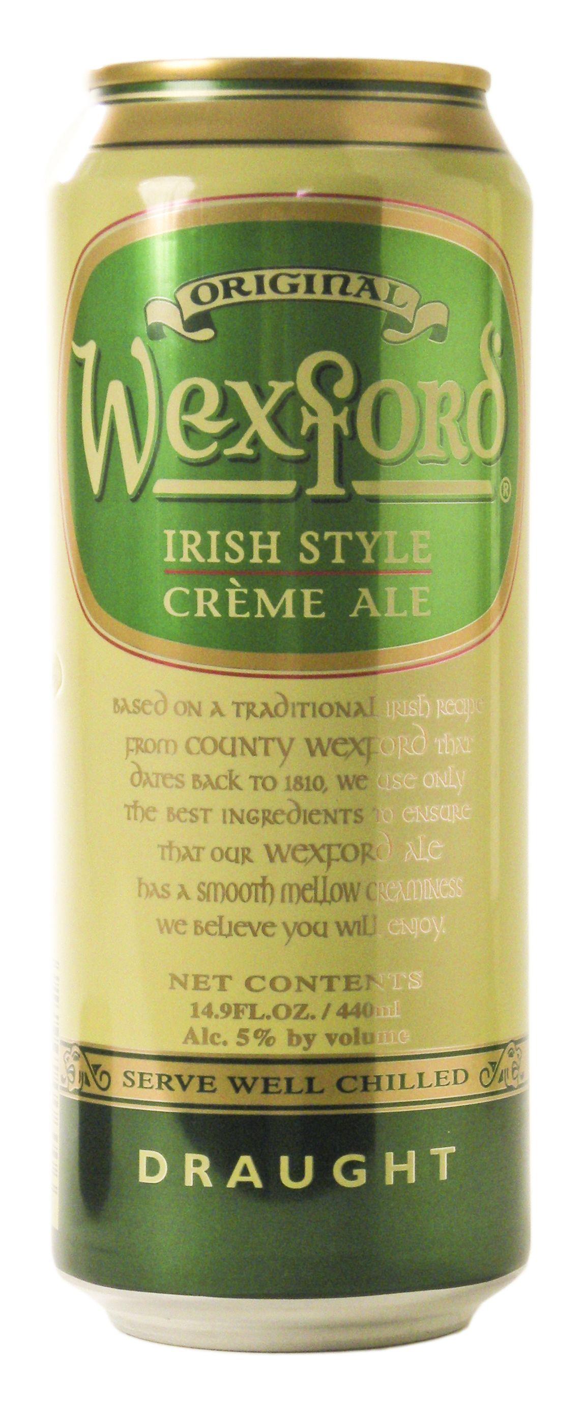 The Wexford Ale Co.Westgate Brewery - Original Wexford (Irish style creme ale) 4,6% tölkki /hana HBF 15.4.1999